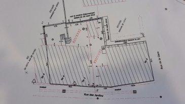 AFFAIRE A SAISIR !! Tempocasa Mondorf-les-Bains vous propose à vendre 2 maisons.  Possibilité de faire 2 maisons bi-familiales d'une surface totale de 500 à 600 m². Projet intéressant pour promoteurs. Travaux de démolition à prévoir.  Pour plus d'informations veuillez contacter l'agence au 26 54 31 48.