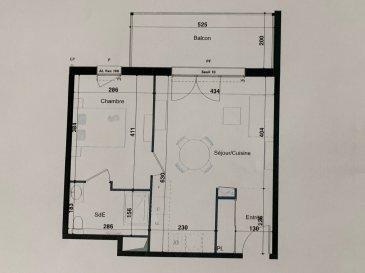 PROGRAMME NEUF A HERSERANGE  Dans un environnement calme, proche commodités  Un appartement T2 de 43.10m² avec une place de parking se composant ainsi :  Au 1ier étage : entrée (4.18m²), une chambre (11.36m²), Salle d'eau avec w-c (4.85m²), séjour/cuisine (22.71m²),  un balcon (9.84m²).  TVA 5.5% selon revenus  Livraison prévue au 4èmeTrimestre 2023.