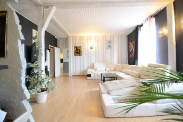 Très bel immeuble, d\'une surface habitable de 270m² env, sur une parcelle de 2 a 74ca, avec possibilité de faire plusieurs appartements (plan disponible) situé sur la commune d\'Homécourt. <br />En rez-de-chaussée : vous pourrez laisser libre court à votre imagination pour transformer une cellule commerciale en un magnifique Loft d\'une surface de 95m² env.<br />Le premier étage se compose actuellement d\'un lot comprenant, 1 cuisine, 1 salle à manger, 1 salle de bain pouvant être aménagé en F1 ou studio. <br />Toujours au premier étage, un second lot, comprenant : 4 grandes pièces que vous pourrez également aménager en 1 petit appartement. <br />Au deuxième étage : un grand appartement composé d\'une cuisine équipée, d\'une salle à manger, d\'un grand salon, de deux chambres ainsi qu\'une salle de bain.<br />Fenêtres double vitrage, chauffage au gaz de ville.<br />Au dernier étage : combles à aménager.<br />Jardin, terrasse, remise.<br /><br />Un très beau potentiel pour ce bien en copropriété.<br />Nb de Lots : 8 sans charge de copropriété / sans syndic.<br />DPE : D              GES : E<br /><br />Contactez Sylvie SCHUMMER agent commercial au RSAC du Val de Briey sous le N° 879 463 735<br />Tél : 06.83.49.61.39