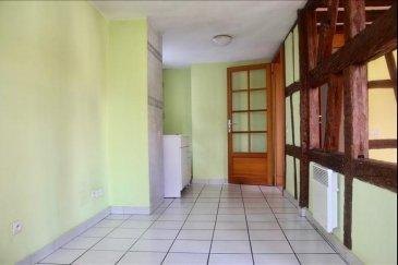 Situé au c&apos;ur du vieux Schiltigheim dans une petite maison alsacienne en copropriété&comma; à proximité des commerces&comma; écoles et transports&comma; venez visiter ce lumineux 4 pièces de 86 m2&period; En duplex celui-ci se compose au premier niveau d\'une entrée&comma; d\'une cuisine à aménager&comma; d\'un séjour&comma; d\'une chambre et d\'un WC&period;  L\'escalier qui mène à étage vous donne accès à une mezzanine distribuant 2 chambres et une grande salle de bain&period;<br /><br />Copropriété de 4 lots&comma; chauffage individuel électrique<br />Prix de vente Agence inclus 169 000 &apos;<br />Contact Virginie Diss 0673153792
