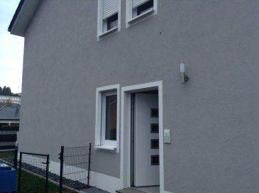 For US Customers only!  Brand-new Townhouse 4 rent in Schoenecken  122 sqm Townhouse for rent in 54614 Schoenecken , Auf Hostert 21  Price: 930 € plus utilities  Size: 122sqm  2 x bedrooms, 2 x master bathroom, 2 x living room, 2 x build in kitchen open plan with dining room, 1 x balcony. 1 x terrace. 1 x garage, 2 x parking lots.   -high speed internet, -25 min roadway from SPAB, -garage is included with the rent  Utilities: - 45 € monthly payment for water/waste-water/ garbage per person, annual invoice, Household-Electricity: own contract with local provider, (RWE, Heat pump, (very economical): own contract with local provider, (RWE), Phone/Internet: own contract with local provider, (Telekom).  The property is listed and approved by US Housing Office/SPAB. When you have any questions, or you like to view the property, please contact me any time.   Have a great day!