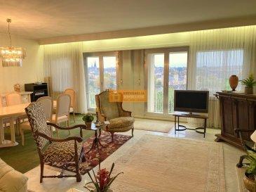 Bel appartement de 85 m2 situé au 5ième  et dernier étage d\'une résidence sis dans le quartier de Luxembourg-Verlorenkost à quelques pas du centre, avec une vue imprenable sur la Ville de Luxembourg.  L\'appartement dispose : Hall d\'entrée, grand living/salle à manger avec accès à la terrasse, cuisine équipée avec accès au balcon, 1 grande chambre à coucher, 1 salle de bain, WC séparé, balcon,  terrasse avec une vue magnifique sur la Ville de Luxembourg, cave et un emplacement intérieur. Travaux de rénovations à prévoir et possibilité de faire une 2ième chambre à coucher.  Le Domaine Beauregard est situé dans une rue calme du quartier de Verlorenkost à proximité du centre de la Ville de Luxemboourg.  Ref agence : B190