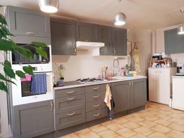 Exclusivité Tfimmo . Idéalement située, maison d\'environ 115 m² au cœur de Pagny dans une petite rue au calme. Cette charmante habitation est composée au rez de chaussée : d\'une entrée, une cuisine aménagée, un séjour donnant sur le jardin, une buanderie, une salle de bains ainsi qu\'une salle de douches avec toilettes. A l\'étage vous y découvrirez trois chambres spacieuses, un dressing,  toilettes. Vous bénéficiez également d\'une loggia, d\'une véranda aménagée en cuisine d\'été, d\' une terrasse et d\'un jardin.  En prime une place de parking privé d\'une contenance de 40m² devant l\'habitation vous sera attitré. Prix : 157 000€ FAI (Frais d\'agence à la charge du vendeur)Contactez Cindy au 0688700833 - barème honoraires : www.tfimmo.com /nos-honoraires.php - Contact : 06.88.70.08.33 - cindythube.tfimmo@gmail.com