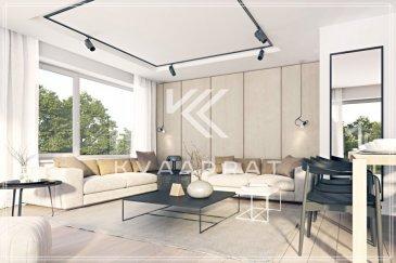 Dans une résidence de grand standing avec une vue imprénable dans un quartier de qualité.  Le penthouse se trouve dans une résidence de seulement 3 appartements. Il se compose de: - Une grande chambre parentale de 18m2 - Salle de douche - Accès directe de l'ascenseur vers l'appartement - Cuisine ouverte avec living et grand living de 39m2 - Grande terrasse de 17,93m2  Le penthouse disposera d'une fintion de très haute qualité avec: - revêtments de sol de 70€/m2 - salle de bains de qualité - peinture intérieure - chauffage au sol - triple vitrage - ...  Possibilité d'acquérir un emplacement intérieure pour 28'000€, un double emplpacement pour 45'000€ ou un emplacement extérieure pour 15'000€.  Le penthouse profitera d'une assurance bi et décennale d'une grande assurance du Luxembourg.  Images 3D non contractuelles.