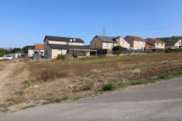 Terrain à bâtir de 603 m2.  Terrain à bâtir - Votre projet sur un terrain de 603 m2 viabilisé.<br> Situé dans la commune de PONT A MOUSSON proche de toutes commoditées.<br> Secteur ZAC DE L\'EMBISE.<br> LOT 2.