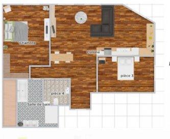 IMMEUBLE LOCATIF 225m2 quartier gare, parking privatif.  **INVESTISSEMENT LOCATIF**<br> Très bel emplacement pour cet immeuble à 150m de la gare de Pont-à-mousson. Situé en deuxième corps de bâtiment, le bien comprends 2 grands appartements :<br> - au rez de chaussé surélevé : un appartement de 93m2 comprenant : 2 chambres, cuisine séparé, toilette indépendant, dressing, salle de bain, salon séjour.<br> - au 1er étage : un appartement de type F4 de 129m2 comprenant : 2 grands salon, 2 belles chambres, ainsi qu\'une salle de bain, et une cuisine indépendante. L\'appartement bénéficie d\'un balcon filant de 8m2.<br> Les 2 appartements bénéficient places de parking privative dans le garage en sous sol.<br> Ces appartements sont à rénover entièrement, intéressant pour défiscaliser.<br> Ces appartements une fois rénovés bénéficieront d\'une excellente capacité locative puisqu\'à proximité de toutes les commodités à pied, tout en ayant un garage fermé.<br> Pour plus d\'informations sur cette belle opportunité, n\'hésitez pas à prendre contact avec l\'un de nos collaborateurs !