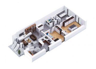 RCI - REFFAY Christophe Immobilien vous propose ici,    dans une résidence de 15 unités située à WILTZ, un appartement avec les caractéristiques suivantes :   - lot A03 - au RDC -  /- 90,37 m2 - 2 chambres  - terrasse de  /- 10 m2 - 2 emplacements de parking sous-terrain - prix avec 17 % de TVA : 482.394,86 EUR  Pour tout renseignement, merci de contacter  RCI - REFFAY Christophe Immobilien au  691 661 661   --------------------  RCI - REFFAY Christophe Immobilien presents here,  in a residence of 15 units located in WILTZ, an apartment with the following characteristics:  - lot A03 - on the ground floor -  /- 90.37 m2 - 2 bedrooms - terrace of  /- 10 m2 - 2 underground parking spaces - price with 17% VAT: 482.394,86 EUR  For any information, please contact RCI - REFFAY Christophe Immobilien at 691 661 661 Ref agence :V_2019_12_A03