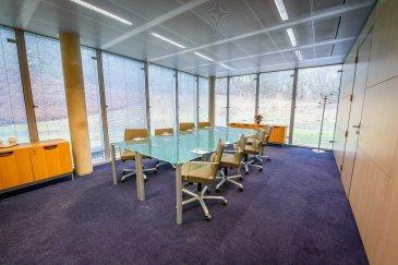 Sur le plateau d'affaires de la CLOCHE D'OR à Luxembourg, au sein d'un immeuble de bureaux de standing, A LOUER MAGNIFIQUE BUREAU HAUT DE GAMME MEUBLE de 25m2!    Sont inclus dans le loyer les prestations suivantes :   - Bénéfice d'une adresse professionnelle,   - meubles et équipement design (bureau, chaise, armoire, caisson de tiroirs, lampe de bureau, téléphone, lampadaire..),   - climatisation, chauffage, électricité,   - ligne téléphonique dédiée avec numéro spécifique,   - INTERNET haut débit illimité garanti,   - Accès sécurisé au bâtiment 24h/24h 7j/7j,   - administration du courrier,   - accueil physique et téléphonique de vos clients,   - espace d'accueil pour visiteurs,   - espace détente pour locataire et accès à une grande terrasse,   - ménage quotidien du bureau et des parties communes,   - …   Avec supplément, vous avez accès à :   - Boissons (café nespresso, thé, capuccino, boissons fraîche, softs….)   - salle de réunion, de formation ou de séminaire,    - traduction, tâches de secrétariat, affranchissement,   - photocopie, impression,   - papeterie, signalétique…   - salle d'archives,   - coursier,   - organisation d'évènement (déjeuner d'affaires, cocktail, buffet…   - parking intérieur,   - ….   La durée du contrat est variable selon vos besoins. Flexible et modulables, votre bureau pourra s'agrandir pour s'adapter à l'expansion de votre activité et accueillir vos nouveaux collaborateurs.   Vous avez la certitude de recevoir vos clients dans un cadre chic et professionnel que vous soyez présent ou absent !   Loyer : 2080 EUR H.T.  Disponibilité : immédiate
