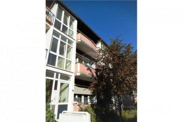 Veuillez contacter M. Bardia Allami pour de plus amples informations : - T : +352 621 150 966 - E : bardia.allami@remax.lu  RE/MAX Luxembourg, Spécialiste du quartier de Bonnevoie, vous propose ce magnifique appartement lumineux dans une petite résidence de 4 appartements. Le plus de cette résidence est le fait qu'il comporte un appartement par étage. Cet appartement au 1er étage a une superficie de 58 m² avec un salon donnant sur un agréable balcon de 4,5 m², 1 chambre à coucher, entrée avec coin débarras, salle de bains + WC, une confortable cuisine séparée et bien équipée, ainsi qu'une cave. Idéalement situé proche de tous les commerces et des transports, on se trouve à moins de 5 min de la Gare de Luxembourg, moins de 10 min du Centre-Ville et 5 min de Cloche d'Or. L'immeuble est bien entretenu et se trouve dans une rue résidentielle. Loyer : 1280 € / mois Charges : 150 € / mois Caution : 2860 € Disponibilité : à partir du 01 août 2020  Frais d'agence RE/MAX : 125 % du montant du loyer à la charge du locataire + TVA