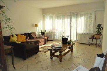 Veuillez contacter M. Bardia Allami pour de plus amples informations : - T : +352 621 150 966 - E : bardia.allami@remax.lu  RE/MAX Luxembourg, Spécialiste du quartier de Bonnevoie, vous propose ce magnifique appartement lumineux dans une petite résidence de 4 appartements. Le plus de cette résidence est le fait qu'il comporte un appartement par étage. Cet appartement au 1er étage a une superficie de 58 m² avec un salon donnant sur un agréable balcon de 4,5 m², 1 chambre à coucher, entrée avec coin débarras, salle de bains + WC, une confortable cuisine séparée et bien équipée, ainsi qu'une cave. Idéalement situé proche de tous les commerces et des transports, on se trouve à moins de 5 min de la Gare de Luxembourg, moins de 10 min du Centre-Ville et 5 min de Cloche d'Or. L'immeuble est bien entretenu et se trouve dans une rue résidentielle. Loyer : 1350 € / mois Charges : 150 € / mois Caution : 3000 € Disponibilité : à partir du 23 juillet 2020  Frais d'agence RE/MAX : 125 % du montant du loyer à la charge du locataire + TVA
