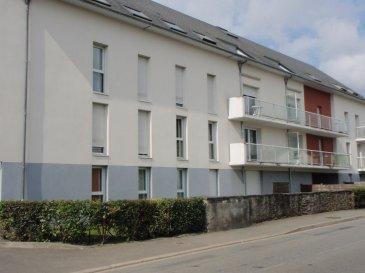 NOZAY -  A LOUER APPARTEMENT T2 DANS RESIDENCE. REF 4120 - A louer plein centre de Nozay dans résidence  sécurisée avec ascenseur; Bel appartement  au 3ème étage comprenant : I entrée avec placard  une cuisine aménagée et équipée  neuve, 1 salon séjour refait à neuf, 1 chambre, 1 salle d\'eau, 1 wc. 1 cave, 1 placez de parking.<br>DPE : D<br>Loyer mensuel : 445 euros dont 25 euros de charges. Dépôt de garantie : 420 euros<br>Honoraires d\'agence : 233 euros <br>Libre au 1er décembre 2017<br>Contacter Jacqueline EXPERT au 06 15 26 26 94 ou 02 40 55 39 68<br>www.igor-immobilier.com<br>