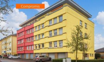 *** SOUS COMPROMIS *** SOUS COMPROMIS *** SOUS COMPROMIS *** Situé à Howald, dans une zone résidentielle calme tout en étant proche de Luxembourg-ville, au dernier étage d'une copropriété soignée de 8 unités avec ascenseur, cet appartement de ± 68 m² profite d'une vue panoramique et dégagée sur la ville (Kirchberg, Belair et Bertrange).   L'ascenseur conduit jusqu'au 3ème étage, le dernier étage est accessible par les escaliers.   La porte d'entrée s'ouvre sur un hall ± 4 m² desservant, à sa gauche, un lumineux séjour ± 28 m² disposant d'un accès à la terrasse ± 10 m² orientée nord-ouest ainsi qu'une salle de bain ± 4 m² (baignoire, lavabo et wc). A droite, ce même hall d'entrée dessert une chambre à coucher ± 14 m² et une cuisine indépendante ± 8 m² avec accès à la 2ème terrasse ± 8 m² orientée sud-est.   La cuisine peut être facilement transformée en 2ème chambre d'enfant si vous optez pour une cuisine ouverte dans le séjour.    Une cave privative ± 2 m², un petit jardin ainsi qu'une buanderie commune situés au rez-de-chaussée complètent l'offre.    Détails complémentaires :  • Vue et luminosité exceptionnelles ; • Libre de suite ; • Double vitrage (2018), volets électriques ; • Rafraîchissements à prévoir ; • Possibilité d'intégrer la cuisine au séjour (comme sur les plans d'origine) et de créer une deuxième chambre dans la cuisine actuelle ; • Environnement calme (zone 30km/h) ; • Avances sur charges : 155 €/mois. • Situation idéale: proche de Luxembourg-Ville (2,5 km), des accès autoroutiers et de toutes commodités (gare, transports publics, commerces, écoles, …).  Agent responsable : Florian Apolinario E-Mail : florian@vanmaurits.lu Mobile : (+352) 691 110 397