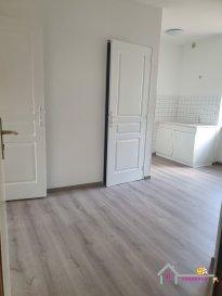 Charmant appartement entièrement rénové de type F1 bis en rdc  Il se compose d'une pièce avec coin cuisine et double placard,  d'une pièce à vivre avec placards,  d'une salle d'eau avec douche avec toilettes ainsi qu'une cave.