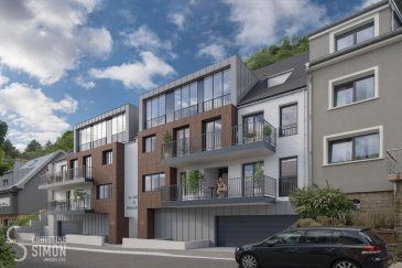 L\'agence immobilière Christine SIMON vous propose un appartement au premier étage dans sa nouvelle résidence « Les Jardins de Weimerskirch » située dans le quartier calme et convivial de Weimerskirch. <br><br>L\'appartement 2A dispose d\'une superficie brute de +/- 133,5 m², d\'un balcon à rue de 6,43 m² et de deux terrasses sur des niveaux différents d\'une superficie totale de 24,9 m². Le bien est desservi par une cage d\'escaliers commune et par un ascenseur s\'ouvrant sur le hall d\'entrée privé. Il se compose de deux chambres à coucher spacieuses, d\'une salle de bains avec WC, d\'une salle de douche, d\'un WC séparé, d\'une arrière-cuisine et d\'une buanderie. Les pièces de vie comprenant une cuisine ouverte, une salle à manger, un salon et un espace bureau - sont particulièrement spacieuses. L\'appartement peut également être proposé en trois chambres à coucher selon vos besoins. <br>L\'appartement dispose également d\'une cave .<br><br>L\'emplacement intérieur est au prix de 50.000 € hors frais.<br>Certificat de performance énergétique (CPE): A-B-A<br>Chaudière collective à au gaz, triple vitrage, panneaux solaires, chauffage au sol, Isolations thermique et phonique renforcées, volets électriques, Ventilation mécanique double flux avec récupération de chaleur, citerne d\'eau de pluie pour l\'utilisation des wc, éclairage led automatique des parties communes et un accès sécurisé au parking par télécommande.<br><br>La construction débutera dès 60 % de ventes réalises et prendra 18 mois.<br><br>Arrêt de bus à 200 m, Piste cyclable à 550 m, Gare de Dommeldange à 650 m, Hôpital à 700 m, école fondamentale à 1,7 km.<br>Quartier d\'affaires (Kirchberg) à 2 km, école européenne 2,1 km, université du Luxembourg à 2,9 km, Parc des expositions et centre culturel et commerces également entre 3,7 et 4 km.<br><br>Prix des logements hors TVA et hors frais.<br>Pour de plus amples renseignements ou un rendez-vous dans notre bureau n\'hésitez pas à nous contacter au numéro: 