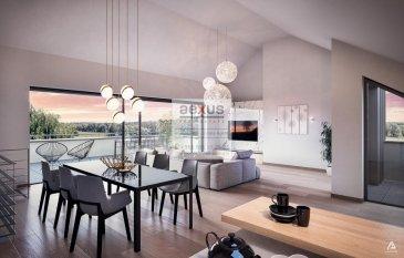 Lorentzweiler  Résidence «MISTRAL», Lot C 2, 38-40 route de Luxembourg, la construction à commencé.<br><br>Le projet se compose de quatre maisons bi-familiales (8 duplex) à 2 ou 3 chambres certains avec bureau. La construction envisagée porte sur deux étages habitables à basse consommation d\'énergie « classe A pour l\'énergie primaire et classe B pour l\'isolation thermique » . Chacun des 8 appartements en duplex bénéficient d\'une belle utilisation de l\'espace et de la lumière.<br><br>Situé en retrait de la route de Luxembourg, vous aurez accès à toutes les commodités:<br>-  à proximité du coeur de Lorentzweiler et des centres commerciales de Mersch<br>à proximité l\'autoroute<br>à seulement +/- 1 km de la gare, de l\'école fondamentale, des crèches et maison relais<br><br><br>Afin de permettre à ses résidents de jouir de la beauté du cadre environnant, tous les duplex disposent un jardin privatif et une terrasse/balcon ensoleillé(e).<br><br>LOT C 2<br><br>La répartition du duplex est comme suit:<br><br>Au premier étage : Hall d\'entrée, 2 chambres a coucher, une salle bains avec douche, cellier.<br><br>Au deuxième étage : une salle de séjour, cuisine ouverte, style Loft, grandes hauteurs sous plafond, deux grandes terrasses, une à l\'avant et une très grande à l\'arrière. Jardin privatif à l\'arrière de l\'immeuble<br><br>Au sous-sol, un emplacement intérieur et une cave par logement, ainsi que les locaux poubelles, poussettes et/ou vélos, buanderie et chaufferie commune. <br><br>Un deuxième emplacement à l\'extérieur par logement inclus dans le prix de vente.<br><br>Prestations : Classe énergétique A/B, fenêtres Alu triple vitrage, fermeture  centrale des volets, chauffage au sol.<br><br>Les appartements sont livrés clés en main.<br><br>Pour toutes informations :  Tel : +352 277 50 40 ; info@aexus.lu<br>Vente exclusive par AEXUS REAL ESTATE. Découvrez tous nos biens sur www.aexus.lu<br><br>Aexus real estate est membre de la Chambre Immobilière du Grand-Duché de
