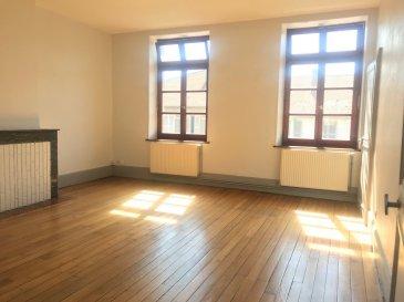 GRAND APPARTEMENT PROCHE COMMODITE.  REMILLY CENTRE, au 1er et dernier étage, appartement de 84 m2 habitable se compose d\'une entrée, d\'une cuisine séparée, d\'un séjour, d\'une salle à manger (possibilité deuxième chambre), d\'un grand dégagement pouvant servir de bureau, d\'une grande salle de bains, d\'une spacieuse chambre et d\'un wc séparé. Stationnement facile devant l\'immeuble. DIsponible de suite. A VOIR !<br> LOYER : 550EUR + 80EUR (Chauffage Fuel collectif)<br> AGENCE VENNER IMMOBILIER<br> 03 87 63 60 09