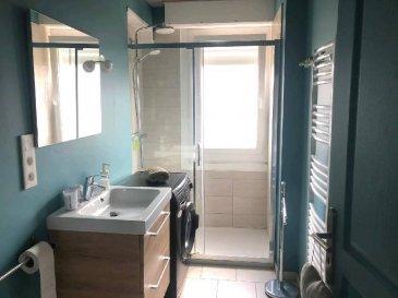 REF 5974  FACE MER PAS VUE MER! Maison neuve 60m² très lumineuse, beau séjour Cuisine équipée, salle à manger, salle d\'eau, wc, 1 chambre.   A l\'étage: une chambre. Pelouse vues sur dunes 50m2.   Réf: 5974