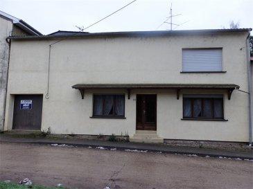 EXCLUSIF NOUS VENDONS à FILSTROFF (57320)  A proximité de la frontière Allemande à seulement 5 kilomètres de Bouzonville de ses commerces et services. Une maison de village établie sur un terrain de 3ares18 . Elle offre une surface habitable de 140 m2 comprenant : En rez-de-chaussée : Un salon- séjour de 37 m2 Une cuisine  intégrée de 17,74 m2 Un WC de 1 ,92 m2  et une douche de 1,85 m2. A l'étage : Trois chambres à coucher de 18,38 m2, 10,3 m2, 9,79 m2. Une quatrième chambre de 13,76 m2 qui donne accès sur un grand balcon couvert de 35 m2 . Une salle de bains de 5,70 m2. Avec aussi deux garages pour une voiture chacun . Une cour intérieure  de 47 m2 avec accès direct à une loggia de 35 m2. *** Chauffage central au fioul, chaudière « De Dietrich. *** Fenêtres en double vitrage sur châssis PVC . *** Buanderie , chaufferie de 20 m2.  LIBRE DE SUITE CONTACT : Jean-Luc MEYER, agent commercial Au :  07 60 13 78 96 Ou l'agence au : 03 87 36 12 24 NB : Les frais d'agence sont inclus dans le prix annoncé.