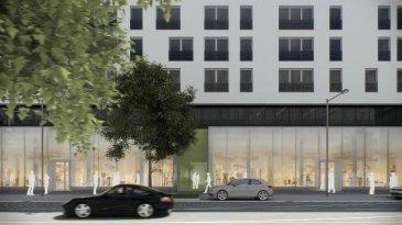LES TRAVAUX REALISES A 85 % ! Le commerce peut être visité sur place !   dans le quartier du Square Mile, nouvelle réalisation d'un immeuble  mixte appelé