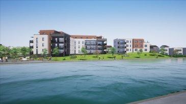 ( contact de 9h à 20h - Jérémy FALCOMATA - Agent immobilier indépendant - 06 98 89 17 53  ) --------- LOT K18 OU K28 :  appartement T2 de 50,45 m² au 1ier étage OU 2ème étage avec terrasse de 10 m². --------- Découvrez sur le Domaine du Port à TALANGE. Résidences DIAMANTS -  L et K  avec ascenseur. R+3 Résidence L : 11 LOTS :   DERNIER LOT !!!  DERNIER ETAGE :  T3 : 173 000 € Résidence K : 28 LOTS : T2 : 154 000 € - T3 de 181 000 € à 244 000 € Parkings en sous-sol  compris et possibilité parking extérieur pour 3000 €. --------- Chaque appartement inclus une place de parking privative en sous-sol. Tous les appartements sont proposés entièrements finis !  ( hors cuisine ) Choix des coloris carrelages et parquets. -------- Frais de Notaire réduits. Prêt à taux zéro possible.