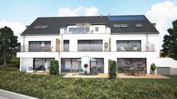Rez-de-jardin 3 chambres, salon-séjour, cuisine ouverte, salle de bains, dans une nouvelle résidence à Huncherange sur la commune de Bettembourg de 94,74m2 habitable + 13,41m2 de terrasse et un jardin privatif.  L'appartement exposé plein sud se situe dans une résidence de 7 appartements, le prix est hors tva et comprend 1 emplacement de parking intérieur et une cave.