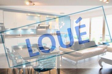 ***LOUE*** ''active relocation luxembourg'' vous propose un appartement de 2 chambres de 78m² situé à Luxembourg-Cessange. Ce magnifique appartement en état neuf comprenant un très beau séjour avec cuisine équipée ouverte et accès vers la terrasse et petit jardin. Une chambre avec placards (celle-ci va être repeinte en blanc),  une chambre/bureau, salle de douche avec WC et un WC séparé.  Au sous-sol, un emplacement de parking, une cave et un emplacement dans la buanderie commune .  L'appartement dispose d'un système d'alarme et domotique.  Cessange: un quartier résidentiel avec ses quelques commerces de quartier. Tous commerces et accès rapide vers l'autoroute et l'école ISL à proximité, proche du nouveau Ban de Gasperich :  (Auchan, Deloitte, Alterdomus, PWC) arrêt de bus à 250m. à 4 km du Centre-Ville, à 4,5 km du Howald, à 7 km du Kirchberg, ISL à 6 min  Si vous pensez vendre ou louer votre bien, active relocation luxembourg est à votre service pour vous conseiller au mieux et vous faire profiter de toutes ses compétences en vue de commercialiser votre bien de manière professionnelle et rapide.  +352 270 485 005 info@arlux.lu www.arluximmo.lu