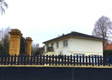 MAISON INDIVIDUELLE..  SOUS COMPROMIS....................SOUS COMPROMIS.........................<br> SILLEGNY    maison individuelle de plain pied sur sous-sol complet de construction traditionnelle,  180 m2 de suface totale dont 110 m2 habitables et 70 m2 d\'annexes;  édifiée sur un terrain d\' environ 7ares17. Elle  se compose d\'une entrée avec espace vie de 45 m2 avec salon séjour avec baie vitrée accés balcon et cuisine équipée ouverte, 3 chambres,  salle de bain avec baignoire. Menuiseries double vitrage en ALU récentes, chauffage mixte (poêle à bois et chaudière gaz à condensation récente). Au sous-sol,  2 garages avec portail électrique, bureau, buanderie, pièce d\'eau. A l\'extérieur une grande terrasse d\'environ 70m2 et jardin clos.<br> AGENCE VENNER  03 87 63 66 38   /   07 87 01 95 93