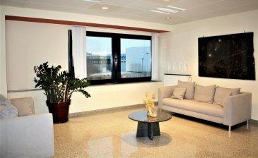 REMAX spécialiste de l`immobilier au Luxembourg vous propose des bureaux avec un hall à Capellen.  Ce bien vous offre un grand Hall de 469 m2 ainsi que six bureaux  et une salle de réunion. Le bien est complété par dix places de parking.  Au rez-de-chaussée (672 m2) vous trouvez  un hall d`entrée de 29m2 avec des wc hommes et femmes, une salle de détente avec une cuisine de 31m2, un bureau de 12m2,des vestiaires hommes et femmes ainsi que  le grand hall.  Au deuxième étage (263 m2) vous trouvez une réception/salle d`attente de 32m2, une salle de réunion de 29m2 ainsi que les  5 bureaux de 30, 37, 30, 47 et 28m2   Pour toutes questions, n`hésitez pas à me contacter.  Fischbach Anne 691666787 anne.fischbach@remax.lu Ref agence :5096013