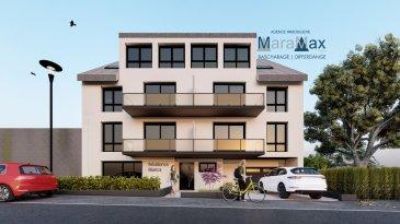 L'agence immobilière MaraMax s.àr.l a le plaisir de vous offrir en vente ce joli appartement, dans une résidence en future construction, caractérisée par son concept haut standing, comprenant 8 unités. La résidence