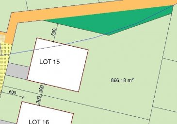 RE/MAX, spécialiste de l'immobilier au Grand-Duché de Luxembourg, vous propose à la vente ce Terrain avec contrat de construction pour une maison (LOT15), située dans un nouveau lotissement très calme de +- 8,66 ares. Ref agence :WEICHERDANGE LOT 15