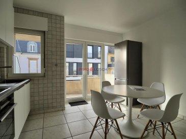 Bel appartement à louer sis à Bettembourg.<br><br>Idéalement situé au centre de Bettembourg, à proximité de la gare, station de bus, supermarchés, école, médecins, etc.<br><br>L\'appartement se trouve au 2e étage, avec ascenseur, dans une résidence très calme.<br><br>Description :<br>- 100m2<br>- Hall d\'entrée<br>- Cuisine individuelle avec accès sur un balcon (orientation Est) de 8m2<br>- Salon <br>- 2 chambres à coucher dont une avec accès sur un deuxième balcon (orientation ouest) de 8m2<br>- Salle de bain, équipé avec une douche et une baignoire<br>- WC séparé<br>- Emplacement intérieur<br>- Cave <br>- Buanderie commune<br><br>L\'appartement est disponible de suite<br><br>Loyer : 1600,-€<br>Charges : 250,-€ (les frais d\'électricité, de l\'internet/TV et les taxes poubelles ne sont pas compris dans le charges mensuelles<br>Caution : 3200,-€ (2 mois)<br>Frais d\'agence : 1872,-€ TTC 17%<br /><br />Schöne Wohnung zur Miete in Bettembourg.<br><br>Ideal gelegen im Zentrum von Bettembourg, in der Nähe des Bahnhofs, des Busbahnhofs, der Supermärkte, der Schule, der Ärzte usw.<br><br>Die Wohnung befindet sich im 2. Stock mit Aufzug in einer sehr ruhigen Residenz.<br><br>Beschreibung:<br>- 100 m2<br>- Eingangshalle<br>- Einzelküche mit Zugang zu einem Balkon (Ostausrichtung) von 8m2<br>- Wohnzimmer<br>- 2 Schlafzimmer, eines davon mit Zugang zu einem zweiten Balkon (Westausrichtung) von 8m2<br>- Badezimmer mit Dusche und Badewanne<br>- separates WC<br>- Innenlage<br>- Keller<br>- Gemeinsame Waschküche<br><br>Die Wohnung ist sofort verfügbar<br><br>Miete: 1600, - €<br>Gebühren: 250, - € (Strom-, Internet- / TV-Kosten und Müllsteuern sind nicht in den monatlichen Gebühren enthalten<br>Kaution: 3200, - € (2 Monate)<br>Agenturgebühren: € 1.872,00 inkl. Steuern 17%<br /><br />Beautiful apartment for rent located in Bettembourg.<br><br>Ideally located in the center of Bettembourg, near the train station, bus station, supermarkets, school, doctors, etc.<br><br>The apartment i