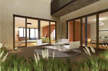 Remax Real Estate Services , spécialiste de l'immobilier au Luxembourg vous propose en exclusivité à SCHUTTRANGE,, à 10 mn du Kirchberg, dans une réalisation moderne de trois unités, haut de gamme,  ce magnifique Duplex avec son entrée privative et sa terrasse vous garantissant un ensoleillement optimal. Le living d'environ 80m2 est ouvert sur la cuisine et donne accès à une belle terrasse orientée sud ouest. La partie nuit est composée de 2 belles chambres de 13,47 m2 avec en vis à vis une salle de bain-WC, ainsi que d'une suite parentale composée d'une grande chambre de 26 m2 avec salle de bain-wc de 6,25 m2. Les prestations techniques de haute qualité viennent compléter un appartement de standing exceptionnel. On retrouve entre autres , un chauffage gaz au sol avec chaudière à condensation, une vmc double flux, des châssis alu triple vitrage, une motorisation des volets et stores, ainsi que de la porte de garage...les matériaux utilisés, les faïences et sanitaires, les équipements sont à la hauteur de cet ensemble chic et moderne, Un garage et une place de parking privative viennent compléter ce luxueux habitat.  Ce prix s'entend HT N'hésitez pas à consulter le cahier des charges et descriptif complet que nous serons ravis de vous faire découvrir contact  GSM 691898010     EMAIL  bertrand.gill@remax.lu