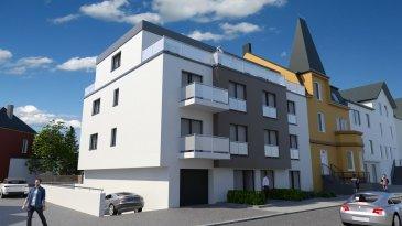 Magnifique appartement situé dans une rue très calme de Kayl.  3 chambres à coucher living cuisine  salle de bain wc séparé 2 balcons cave garage