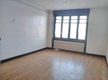 Epinal Proche Gare - Appartement t5 à rénover sur 106m2 hab.  situé au 1er étage dans une petite copropriété à faible charges <br />comp. Entrée - Vaste séjour - Cuisine - 3 chambres - sdb et cave .<br />Pour plus de renseignements contactez votre agent commercial Olivier Badonnel  06 62 34 52 31 immatriculé à Epinal sous le numéro 423816198