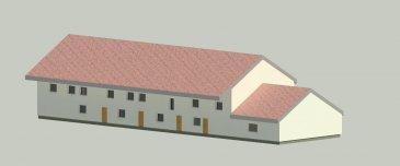 Ideal investisseur.  Dans village proche des accès A31, un ensemble immobilier sur une parcelle de 1921 m2 a rénover totalement. Permis de construire accepté pour 4 maisons d'env 80 m2 chacune avec jardin sur l'avant et sur l'arrière de la parcelle.  Menuiserie neuve, dalle beton au 1er étage, très beaux volumes a exploiter.