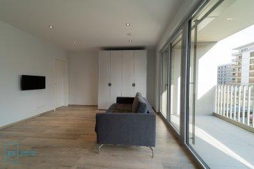 LIVINGFORM FORM Real Estate et LF CONCEPT vous proposent un magnifique studio d'une surface de 47 m2 et d'une terrasse de +/- 12m2, le tout situé au 1er étage dans le nouveau quartier du Ban de Gasperich..  Le bien dispose d'une cuisine entièrement équipée et d'une salle de bains.  L'appartement est loué meublé (Canapé lit, télévision, table / chaises, dressing, etc) ainsi que tous ustensile de cuisine.   De plus le studio est loué avec une cave privative et un emplacement intérieure.  Loyer: 1.550 € Charges: 135 € Caution: 4.650 € (3 mois de loyer)  Disponibilité : immédiate  Pour de plus amples informations et pour toute visite, n'hésitez pas à nous envoyer votre demande de contact par mail : info@livingform.lu