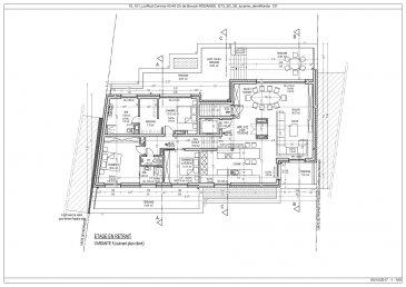 Votre agence IMMO LORENA de Pétange vous propose dans une résidence contemporaine en future construction de 12 unités sur 4 niveaux située à Rodange, 45 chemin de Brouck 1 MAGNIFIQUE PENTHOUSE de 175,93 m2 à L'ETAGE EN RETRAIT avec ascenseur, décomposé de la façon suivante:  - Hall d'entrée de 4,32 m2 - Cuisine ouverte et salon faisant un total de 84,37 m2 donnant accès à la terrasse de 22,80 m2 - Hall de nuit de 10 m2 - Une chambre de 12,19 m2 donnant accès à la terrasse de 24,30 m2 - Une magnifique chambre parentale de 13,52 m2 donnant accès a la terrasse de 32,05 m2 avec dressing de 7,23 m2 et une salle de bain privative avec douche italienne de 11,62 m2 - Chambre de 19,60 m2 donnant également accès à la terrasse - Un WC séparé de 2,01 m2 - Deux caves privatives,  deux emplacements  intérieurs  et un emplacement pour lave-linge et sèche-linge au sous sol.  Cette résidence de performance énergétique AB construite selon les règles de l'art associe une qualité de haut standing à une construction traditionnelle luxembourgeoise, châssis en PVC triple vitrage, ventilation double flux, chauffage au sol, video - parlophone, système domotique, etc... Avec des pièces de vie aux beaux volumes et lumineuses grâce à de belles baies vitrées.  Ces biens constituent entres autre de par leur situation, un excellent investissement. Le prix comprend les garanties biennales et décennales et une TVA à 3%. Livraison prévue septembre 2021.  3% du prix de vente à la charge de la partie venderesse + 17% TVA Pas de frais pour le futur acquéreur   Pour tout contact: Joanna RICKAL +352 621 36 56 40 Vitor Pires: +352 691 761 110   L'agence Immo Lorena est à votre disposition pour toutes vos recherches ainsi que pour vos transactions LOCATIONS ET VENTES au Luxembourg, en France et en Belgique. Nous sommes également ouverts les samedis de 10h à 19h sans interruption. Demander plus d'informations