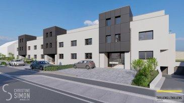 Appartement M04- au 1er étage d\'une surface habitable de 115,42 m2, une terrasse de 16,96 m2, une cave et un emplacement intérieur et extérieur. Il se compose comme suit: Hall d\'entrée 3 chambres à coucher Séjour, cuisine ouverte avec accès vers la terrasse. Débarras Salle de douche et toilette séparée. N\'hésitez pas à nous contacter au tel: 621 189 059 ou par mail au cs@christinesimon.lu Ref agence :M04- 1er étage
