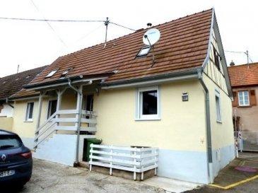 Petite maison de ville entièrement rénovée  L'alternative à un appartement   Habitation et petite dépendance sur 1,6 ares Surface environ 100 m2  4 pièces dont 3 chambres    RDC: 62 m2   Accueil, couloir 6 m2  1 séjour 21 m2 (5,60m x 3,5m)   1 pièce 14 m2 ((2,8m x 5,1m) 1 Cuisine aménagée avec un coin repas en L  21 m2  1er étage: 38 m2 au sol    Pallier 9m2  + dégagement 5 m2  1 chambre 18 m2 (au sol 4,6 x 4,1 m) 14 m2 1 chambre 12 m2 au sol 4,6 x 4,1 m) 14 m2 1 SDB avec baignoire et WC  5 m2 (2,1 x 2,4 m)   Cave : sous une partie de la maison (5,6m x 4 m)   Prix 119 000  € *  *  (Frais de notaire en sus, honoraires d'agence à la charge des vendeurs)  Diverses indications:  27 Rue de la Moder  67340 INGWILLER  Construite avant 1945 A moins de 10 minutes à pieds de la gare et du centre ville D'INGWILLER Commerces de proximité, médecins, école secondaire etc.  Chauffage chaudière gaz de ville  Fenêtres PVC double vitrage, volets roulants PVC  DPE 139kwh  C   Emi. 32 KG D  Cette petite maison de ville entièrement rénovée est habitable de suite, elle peut répondre à un 1er achat ou pour un investissement locatif, elle est située à moins de 10 minutes du centre et de la gare d'Ingwiller et non loin de la nature dans le parc naturel des Vosges du nord, la biodiversité de la région lui confère un cadre de vie rural propice à l'évasion.  La proximité de la gare est un plus, qui  permet d'être en 35 minutes à Strasbourg (15 trains par jour)      Pierre  Bernhardt   Négociateur indépendant en immobilier    Tel    06 07 47 40 05  Siren: 315571521  Agent mandataire de : Sarl IMGELOC  siège social 17 rue des Romains 67110 Niederbronn les Bains  Siret 50092522700018 Carte Prof. N° 661/2007  Mandat nr 319019