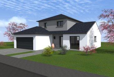 Terrain viabilisé hors lotissement  Environ 40m X 50m Contrat de construction avec Maison d'en France
