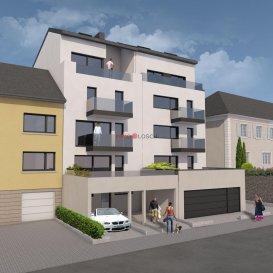 Nouveau projet à Luxembourg Muhlenbach <br><br>La résidence <<Lara>> comporte 5 étages, 5 appartements, une buanderie commune, un local vélo et un ascenseur.<br><br>Le bien se trouve idéalement au centre de Luxembourg Muhlenbach à quelques pas de la forêt du Bambësch, à 5 minutes à pied de la place Dargent, à 15 minutes à pied du funiculaire et de la Gare Kirchberg, proche des commerces, supermarchés, médecins, pédiatres, jardins d\'enfants, écoles et des transports communs.<br><br>L\'appartement au premier étage a une surface cadastrale de +/-77m2 et dispose d\'un spacieux salon avec une cuisine ouverte et accès sur la terrasse de +/-17m2, une salle de douche, une chambre à coucher + une pièce \