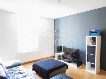 ***. AVIS AUX INVESTISSEURS***  ONUD SA vous présente cette maison au centre de Villerupt; comprenant:  RDC: -Une cuisine équipée, de 20m2, -une salle de douche avec wc, -balcon de 10m2  1ère étage: -un living spacieux de 21m2,  2ème etage: -une chambre à coucher de 20m2, -petit bureau.  Sous-sol: une cave et buanderie, possibilité pour faire une terrasse de 20m2 et un garage; Un emplacement de parking extérieur  INFO SUPPLEMENTAIRE: -Porte pvc, -Fenêtres double vitrage, -chauffage a gaz de 2015 sim le blanc -électricité au norme, -Toit refait 2010  Actuellement loué à 550' charges comprises par mois.   (Prix Frais d'Agence Inclus) Ref agence :5525933