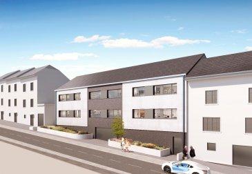 Belle petite résidence à 4 unités, proche de toutes commodités-commerces-écoles-bus et accès autoroute.  Appartement 01-B, 101m2 au 1 étage:  hall d'entrée, beau living-cuisine avec accès terrasse de 10m2, 3 chambres, salle de bain, salle de douche.  Rdch: cave 5,56m2, emplacement pour 1 voiture 20.600.-€ TVA 3% inclus.  Prix de l'appartement: 740.000.-€ TVA 3% inclus.  Possibilité d'avoir un deuxième emplacement au prix de 20.600.-€ TVA 3% inclus.  Pour plus de renseignements, veuillez me contacter au 661.217.707 Dimonte Franco ou 691.156.162 Benedetti Luciano.