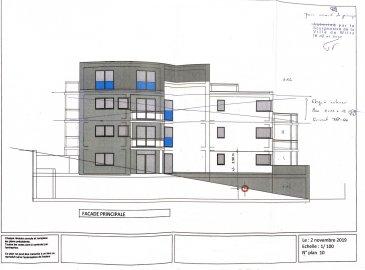 Projet autorisé pour construire une residence de 6 appartements