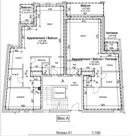 ***Sous compromis***  Immo Color Sàrl vous propose à la vente en futur achèvement  dans une nouvelle construction, fin des travaux fin 2021  Un appartement avec une surface habitable de 76.48m², se compose d'une chambre a coucher avec salle de bain séparé, une toilette séparé ainsi qu'un emplacement intérieur et 1 extérieur et une cave font parti de cette vente.  Le prix annoncé est avec 3% de TVA (Taux super réduit TVA 3% Faveur fiscale en matière de TVA. Sous réserve d'agréation de la part de l'administration de l'enregistrement et des domaines)  Pour toute information complémentaire n'hésitez pas à nous contacter Tel: 691080103 www.immocolor.lu