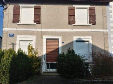 DANNEVOUX,   - Maison d\'habitation comprenant : - Au rez-de-chaussée : Cuisine, salon, chambre, salle de bains avec douche et W.C.; - A l\'étage : deux chambres (dont une sur palier). Petite cour avec abris de jardin. Le tout sur une superficie de 1a 62ca - 50 000,00 euros  (frais de négociation charge vendeur)-Réf : DANDEB
