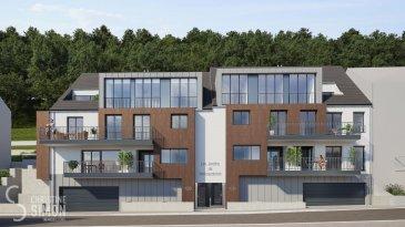 L\'agence immobilière Christine SIMON vous propose un appartement au premier étage dans sa nouvelle résidence « Les Jardins de Weimerskirch » située dans le quartier calme et convivial de Weimerskirch. <br><br>L\'appartement 2B libres de 3 côtés, dispose d\'une superficie brute de +/- 136,4 m², d\'un balcon de 9,1m² et de deux terrasses d\'une superficie totale de 38,8 m². Le bien est desservi par une cage d\'escaliers commune et par un ascenseur s\'ouvrant sur le hall d\'entrée privé. Il se compose de trois chambres à coucher, d\'une salle de bains avec WC, d\'une salle de douche, d\'un WC séparé ainsi que d\'une buanderie. La pièce de vie comprenant une cuisine ouverte, un salon et une salle à manger est particulièrement spacieuse et lumineuse grâce à de larges baies vitrées donnant accès au balcon à rue et aux terrasses. <br>L\'appartement dispose également d\'une cave .<br><br>L\'emplacement intérieur est au prix de 50.000 € hors frais.<br>Certificat de performance énergétique (CPE): A-B-A<br>Chaudière collective à au gaz, triple vitrage, panneaux solaires, chauffage au sol, Isolations thermique et phonique renforcées, volets électriques, Ventilation mécanique double flux avec récupération de chaleur, citerne d\'eau de pluie pour l\'utilisation des wc, éclairage led automatique des parties communes et un accès sécurisé au parking par télécommande.<br><br>La construction débutera dès 60 % de ventes réalises et prendra 18 mois.<br><br>Arrêt de bus à 200 m, Piste cyclable à 550 m, Gare de Dommeldange à 650 m, Hôpital à 700 m, école fondamentale à 1,7 km.<br>Quartier d\'affaires (Kirchberg) à 2 km, école européenne 2,1 km, université du Luxembourg à 2,9 km, Parc des expositions et centre culturel et commerces également entre 3,7 et 4 km.<br><br>Prix des logements hors TVA et hors frais.<br>Pour de plus amples renseignements ou un rendez-vous dans notre bureau n\'hésitez pas à nous contacter au numéro: 26 53 00 30 1ou par email info@christinesimon.lu<br><br>Nous somm