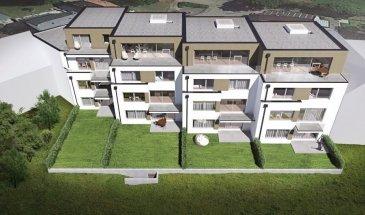FIS Immobilière vous présente 4 nouvelles résidences à toitures plates de style contemporain dans une rue calme et sans issue dans la ville de Tétange.   Les 4 résidences regroupent 12 logements en tout.   4 Résidences ont chacune 2 appartements et 1 Penthouse sur deux niveaux par bâtiment, le sous-sol est commun aux 4 bâtiments. Les 4 résidences comprennent 24 emplacements intérieurs et 2 emplacements extérieurs.   Les 2 autres bâtiments ont 2 duplex chacun avec un sous-sol séparé pour les deux bâtiments qui disposent de 4 caves et de 4 emplacements intérieurs doubles.   Les 4 Penthouse sur deux niveaux auront des entrées complètement séparés comme dans une maison. Chaque appartement dispose d'une cave privé.   Les appartements sont spacieux et lumineux disposant de 2 à 4 chambres à coucher avec une voir 2 terrasses par appartements.   Les appartements situés au rez-de-chaussée dispose d'un jardin privé.   Chaque détail a été ici pensé afin de proposer aux futurs occupants un confort de vie optimal.   Des équipements et matériaux haut de gamme sélectionnés avec le plus grand soin, des espaces extérieurs comme des terrasses et jardins privés pour les appartements au rez-de-chaussée et des terrasses avec une vue dégagée pour les biens aux étages supérieurs.   Êtes-vous intéressé ?  N'hésitez pas à nous contacter pour plus d'information au +352 621 278 925