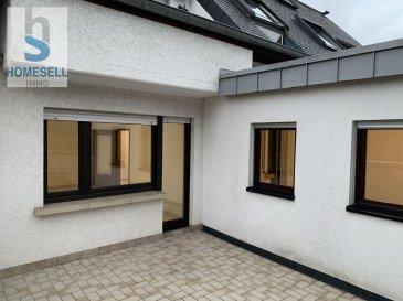 HOMESELL IMMO vous propose ce bel appartement d\'une chambre qui se situe à Mersch et se compose comme suit:<br><br>1 chambre à coucher<br>1 salon<br>1 cuisine<br>1 grande terrasse (+/- 20m2) avec vue sur le parc de Mersch<br>1 emplacement extérieur<br><br>Pour d\'éventuelles visites, n\'hésitez pas à nous contacter.