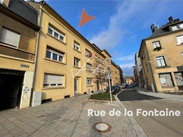 Avis aux investisseurs: Bel immeuble de rapport à vendre d'environ 425m2 habitable, idéalement situé à Esch-sur-Alzette, à proximité directe de la Gare et du centre ville.  L'immeuble se compose comme suit:  Rez-de-chaussée: 1 studio droit de 47m2 (loué) 1 studio gauche de 47m2 (loué) 1 jardin   Etage 1: 1 appartement avec 2 chambres à coucher de 105m2 (non loué)  Etage 2: 1 appartement avec 2 chambres à coucher de 105m2 (loué)  Etage 3:  1 grenier immense d'environ 120m2 à aménager   Sous-sol: 4 chaudières Buderus à gaz indépendantes pour chaque appartement. 4 caves. 1 buanderie.  L'ensemble est à rénover au gout du jour, pas de travaux de gros-œuvre n'est à prévoir.  Disponible immédiatement.  Votre personne de contact: Yves Rogowski: 621 455 455